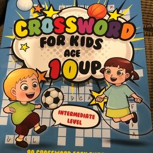 Crossword for kids ages 10 and up
